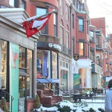 New Bury Stree: A rua mais charmosa de Boston