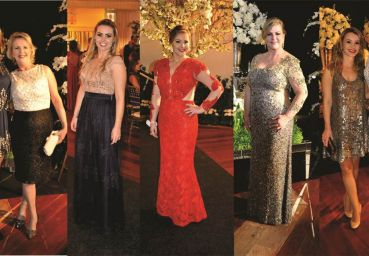 Looks do enlace de Júnior Menegalli e Paula Biz