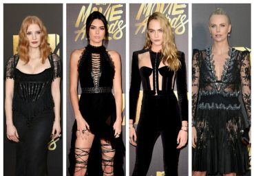 Os looks pretos no red carpet do MTV Movie Awards