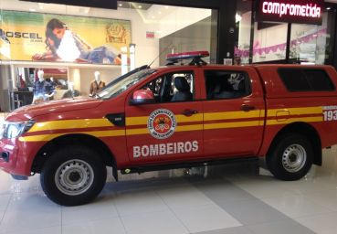"Center Shopping realiza a ""Semana do Bombeiro"""