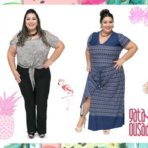 Moda Plus Size Gata Ousada: Summer of sensations