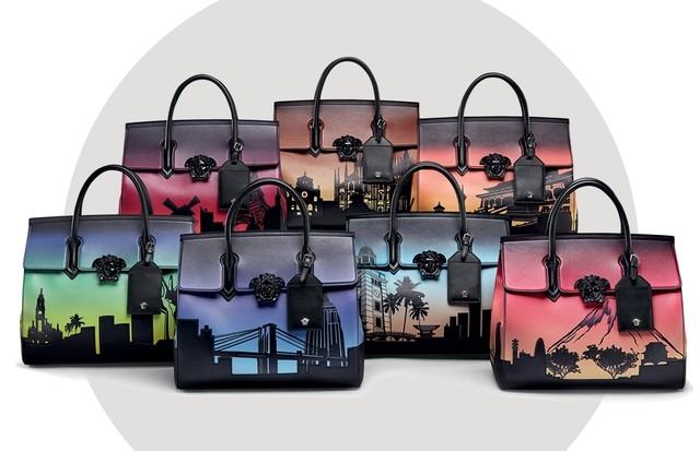 Espaços icônicos de cidades são inspiração para bolsas de grife
