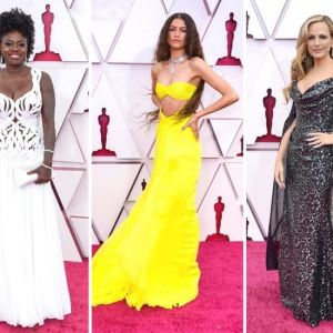 Oscar 2021: looks destaques no red carpet do cinema mundial